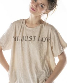 Magnolia Pearl | Cotton Jersey Tee | You Just Love