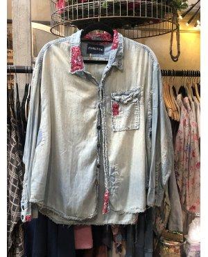 Magnolia Pearl | Adison Workshirt | Tobi | Cotton Denim