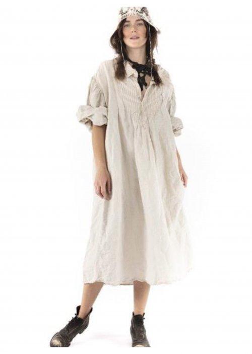 Magnolia Pearl | Tora Shirt Dress | Cotton Viscose | Henry