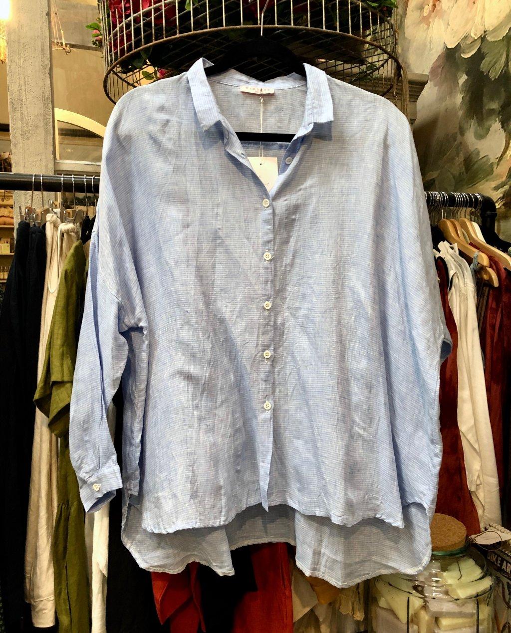 Widdess - Tosca Shirt - Linen - Leon