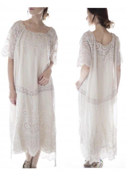 Magnolia Pearl   Virgie Eyelet Dress   Moonlight