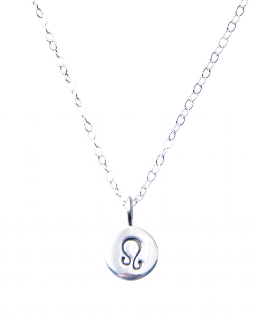 Pam Kerr Designs | Sterling Silver Zodiac Charm Necklace | 5-Leo
