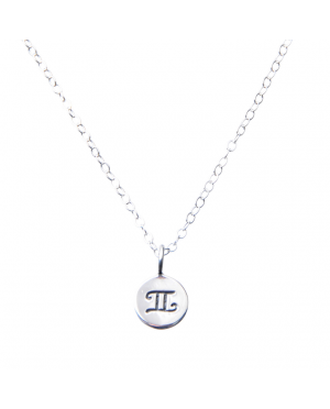 Pam Kerr Designs | Sterling Silver Zodiac Charm Necklace | 3-Gemini